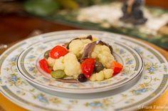 A Neapolitan Christmas: Insalata di rinforzo (Cauliflower and Pickled Vegetable…
