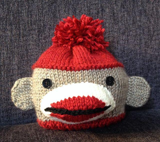 Ravelry: Sock Monkey Hat (newborn to child sizes) by Donna Sires