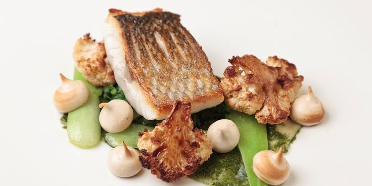 Renowned chef Matt Gillan serves up a delicious portion of sea bass and conjures up some extraordinary soy sauce meringues to accompany the fish - a must-see recipe