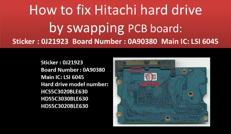 Hitachi DeskStar 0J21923 PCB board for HDD repair and data recovery  tip: PCB board firmware (BIOS) transfer is a must. Ribbon cable is easy to break when work on the PCB board. 0J21923  0A90380 LSI 6045 HCS5C3020BLE630  HDS5C3030BLE630  HDS5C3020BLE630