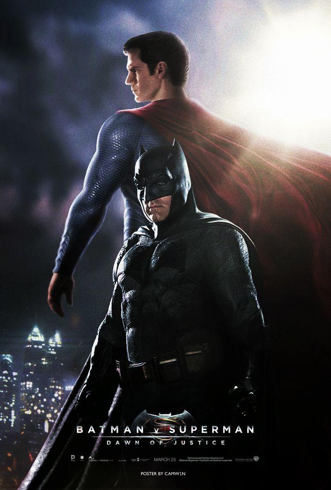 batman v superman 2016 fan poster by camw1n batmanvsuperman kurttasche successwithkurt. Black Bedroom Furniture Sets. Home Design Ideas
