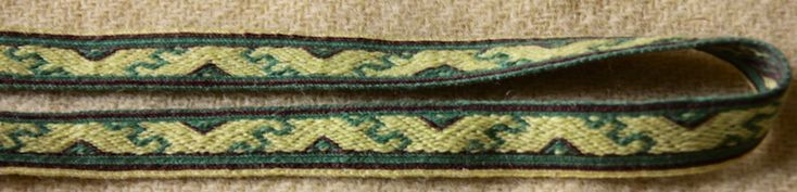 the border pattern from the Hochdorf band. By Aisling