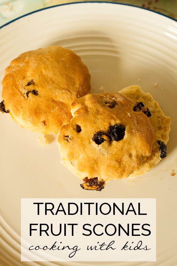 how to make fruit scones