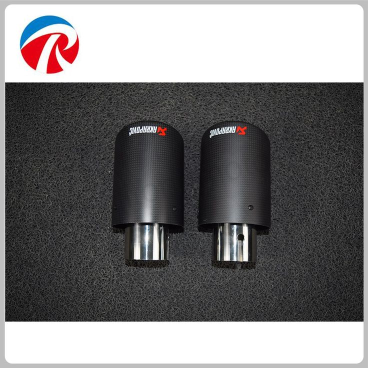Cheapest prices US $30.00  Stainless steel 63-89mm car part universal Akrapovic exhaust tip with full carbon cover  #Stainless #steel #part #universal #Akrapovic #exhaust #full #carbon #cover  #Internet