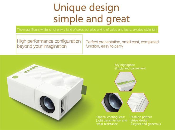 Lumi HD Projector Full HD Ultra Portable and Incredibly Bright Mini Projector
