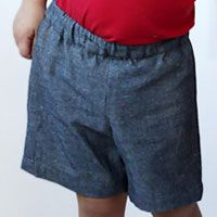 shorts oliver+s free pattern  sizes 6m to 12y