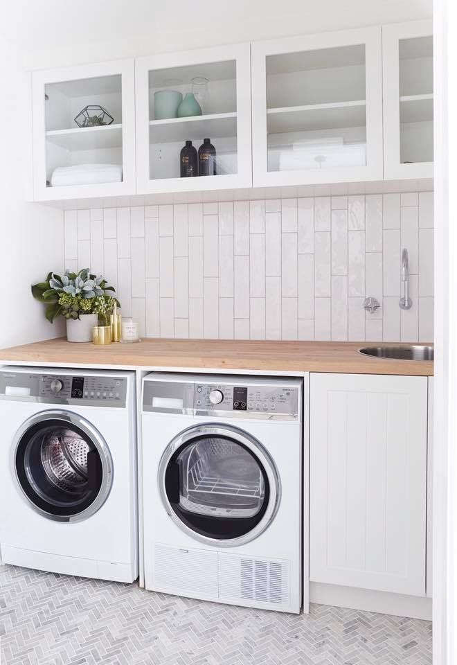 Ideal laundry layout