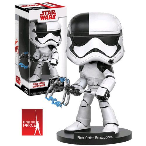 Funko Wobblers (Wacky Wobbler) Star Wars The Last Jedi First Order Executioner - New, Mint Condition.  https://www.supportivepc.com/funko-wobblers-wacky-wobbler-star-wars-the-last-je~31914  #Funko #Wobblers #FunkoWobblers #StarWars #Collectibles