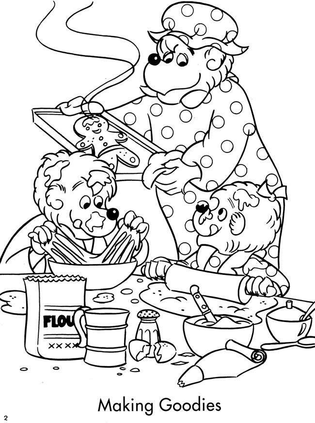 Welcome to Dover Publications / The Berenstain Bears' Christmas Coloring and Activity Book / Jan and Stan Berenstain