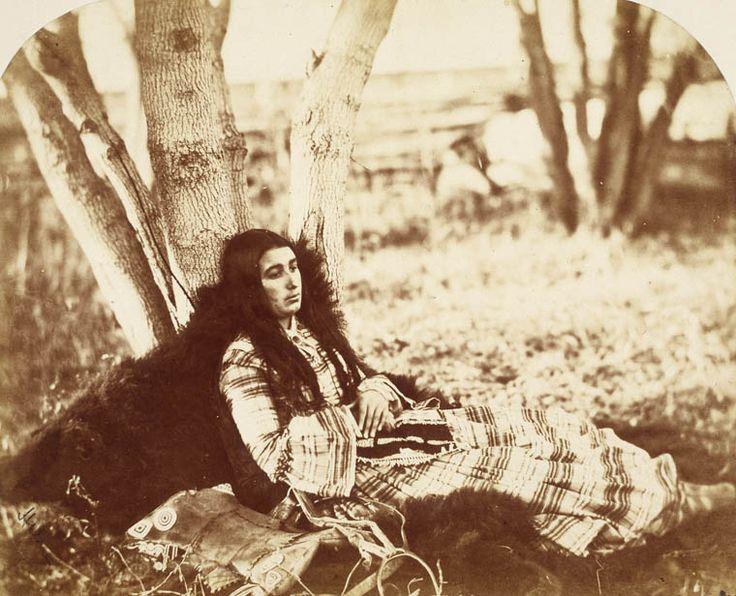 Letitia Bird, Cree Métis, Red River (Manitoba), 1858