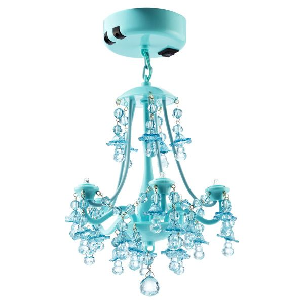 Locker Chandelier Aqua
