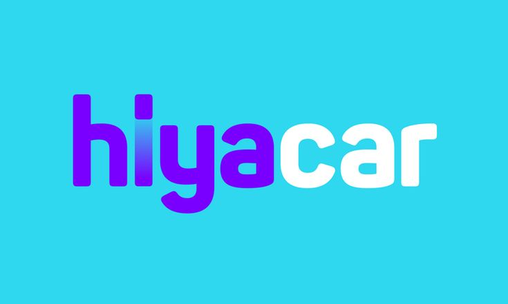 New Logo and Identity for HiyaCar by SomeOne #graphic #design #brand #identity