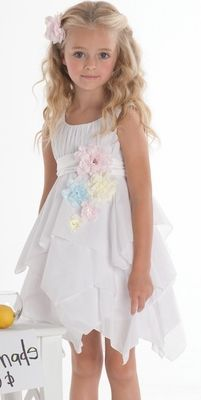 Kate Mack Easter Flowers Dress Preorder - Girls Easter Dresses