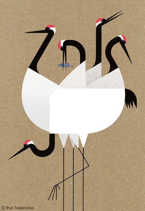 Ryo Takemasa   An illustration for a New Year's card 2017.