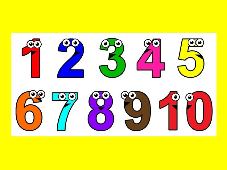 numbers colors kids toddlers