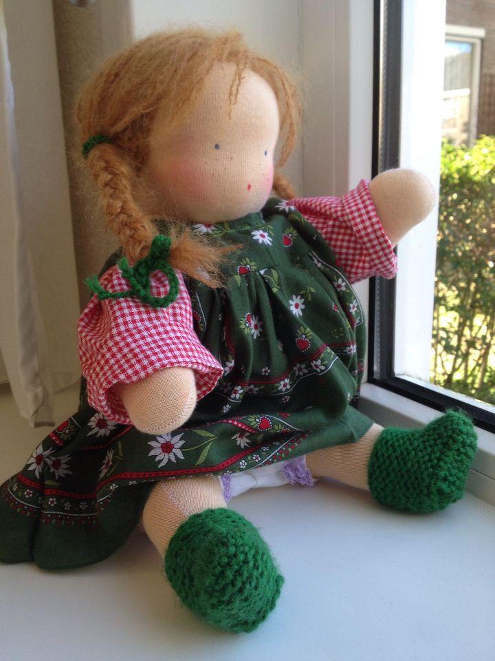 Heidi , Zonnekindpop van Edith's Poppen 2016