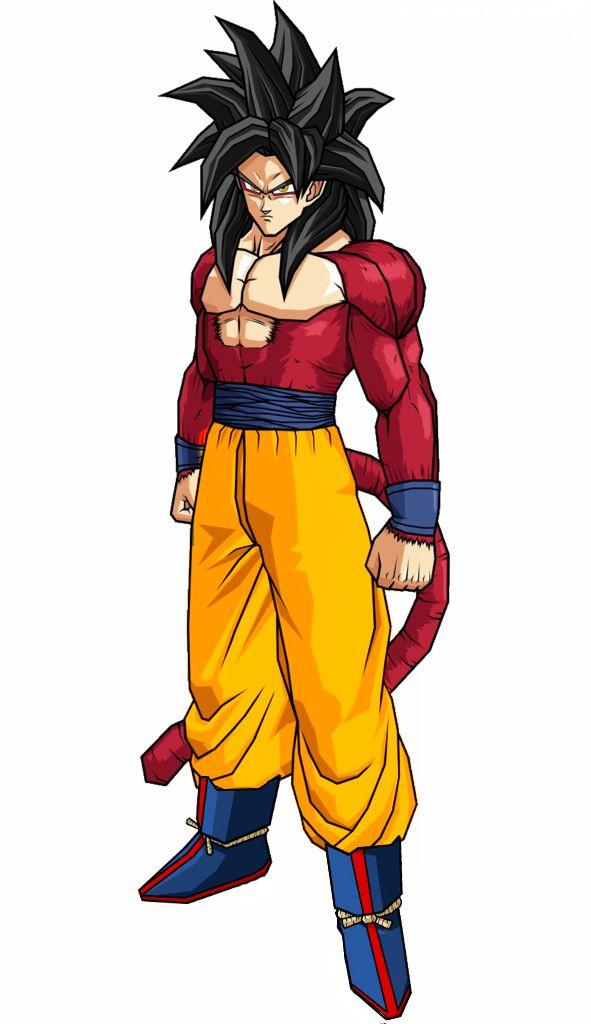 Goku super saiyan 4 goku super saiyan 4 pinterest goku - Son gohan super saiyan 4 ...