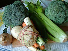 Zielona zupa zdrowia