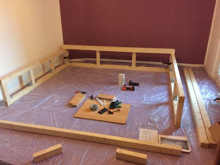 Podestbett Bauen Ideen Bilder. podestbett-bauen-kleines-schlafzimmer ...