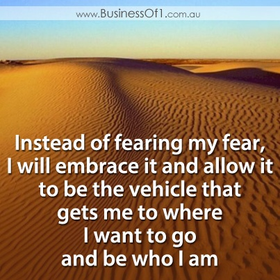 Fear is a vehicle