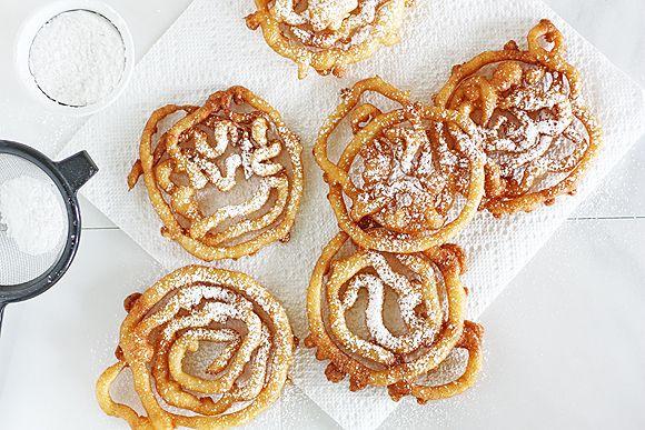 DIY Mini Funnel Cakes | Taste for Adventure - Unusual, Unique & Downright Awesome Recipes