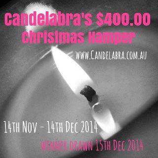 Candelabra Christmas Hamper