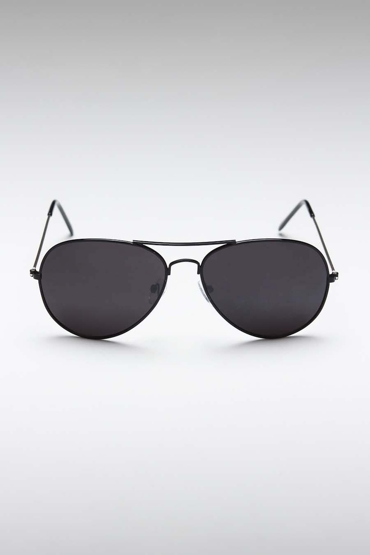 Rich and Famous Riley Sunglasses Matte Black - COOL