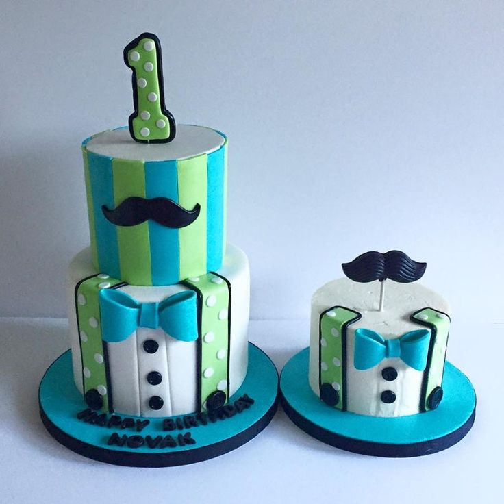 Little Man Cake Design Prezup for
