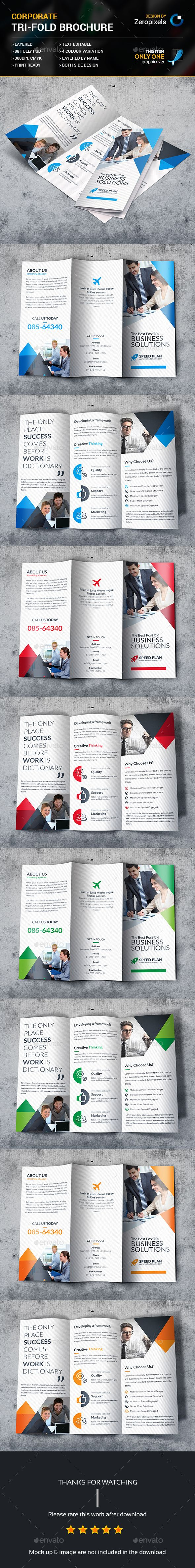 Corporate Trifold Brochure Template PSD. Download here: http://graphicriver.net/item/corporate-trifold-brochure/15351455?ref=ksioks