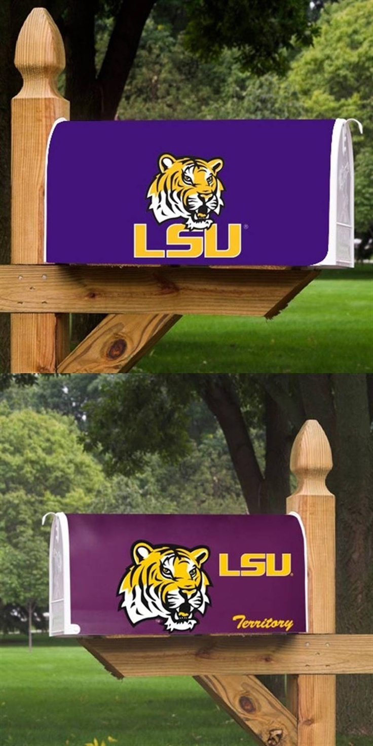 LSU - Louisiana State University Tigers - 2 different mailbox covers