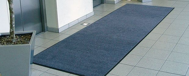 Iron-Horse Mats by Kleen-Tex. Outstanding cleaning - High durability. #laundrymat