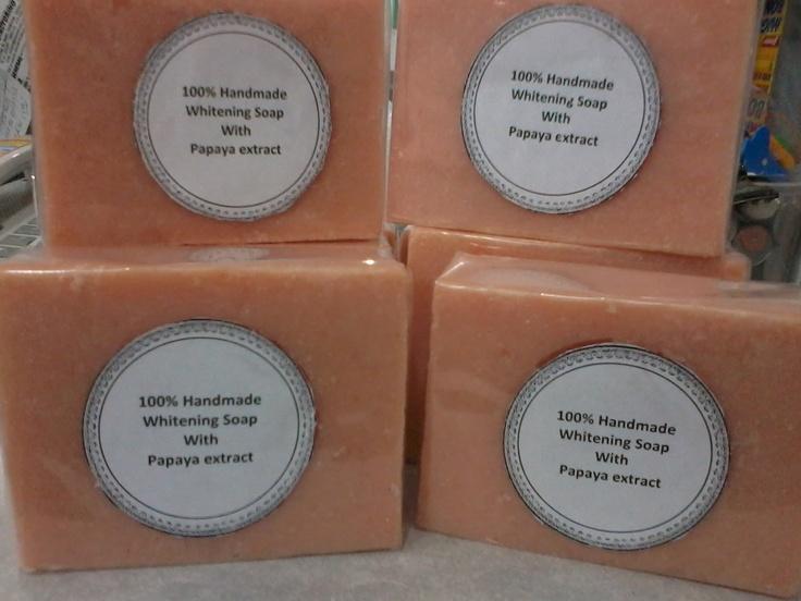 Handmade Skin whitening w/ papaya extract (for even skin toned)