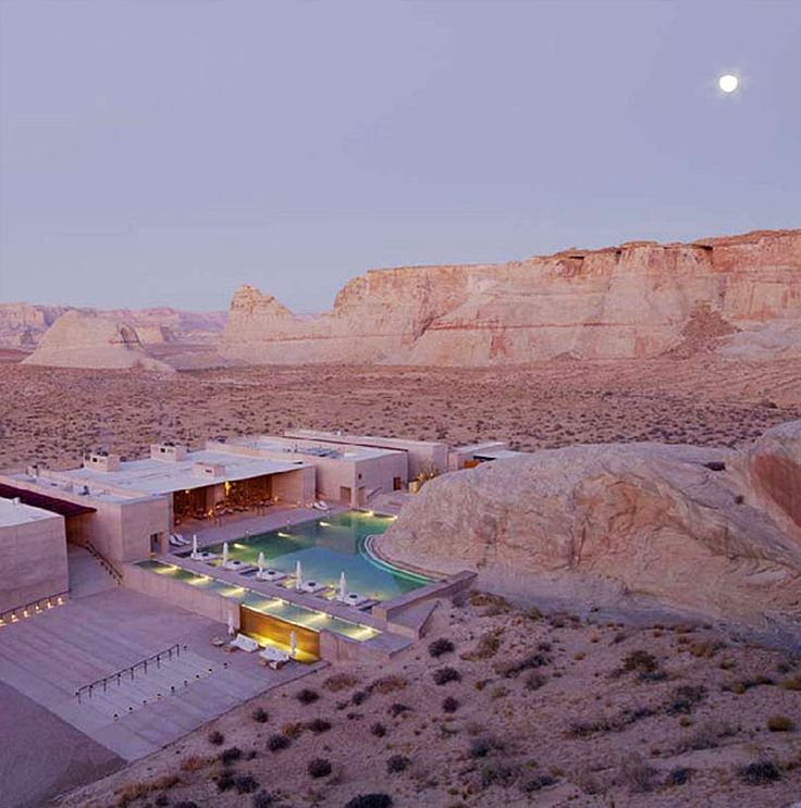 Amangiri Resort, Canyon Point, Utah.  (Thank you to @Joao Costa for identifying this one.)
