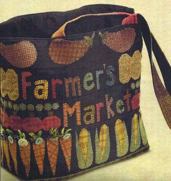 Primitive Folk Art Fabric Pattern FARMER by PrimFolkArtShop, $8.00