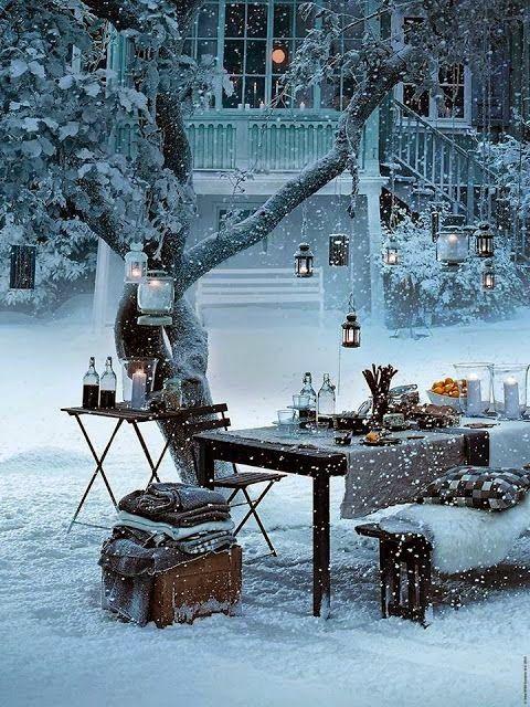 Snow Picnic, Stockholm, Sweden......