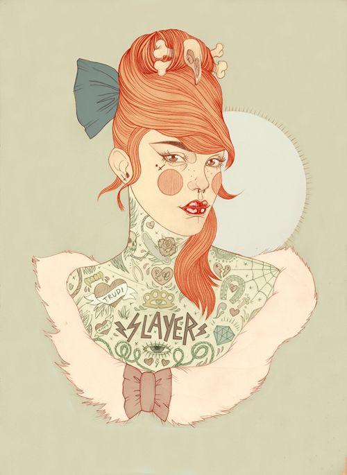 'Slayer' - Liz Clements Illustration