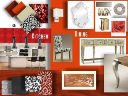 Kitchen and Dining - Designed by Wendy Barnard