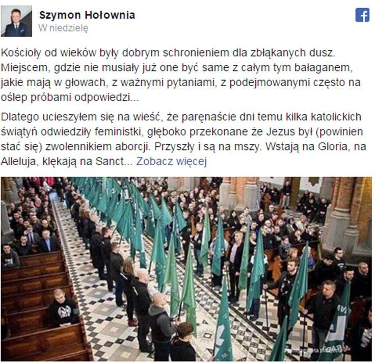 Szymon Hołownia o ONR. Hołownia wypowiedział się na kilka ostatnich spraw którymi żyje Polska (słusznie czy nie to już nie istotne