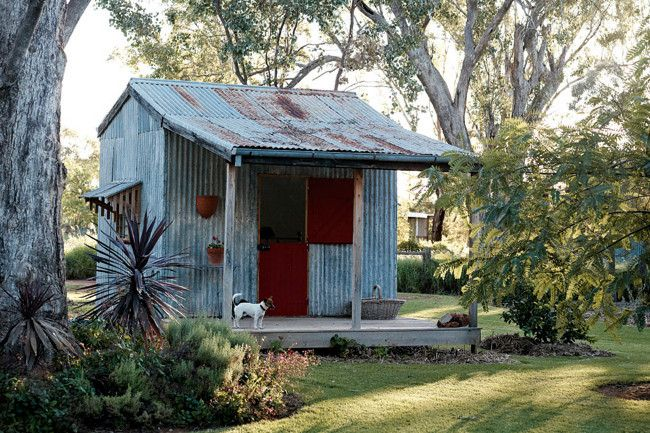 Weekly Faves: 5 Inspiring Outdoor Spaces: This week, I can't stop peeking at rustic potting sheds, pretty country meadows, and other rural spaces. See what pretty outdoor spots have caught my eye this week.