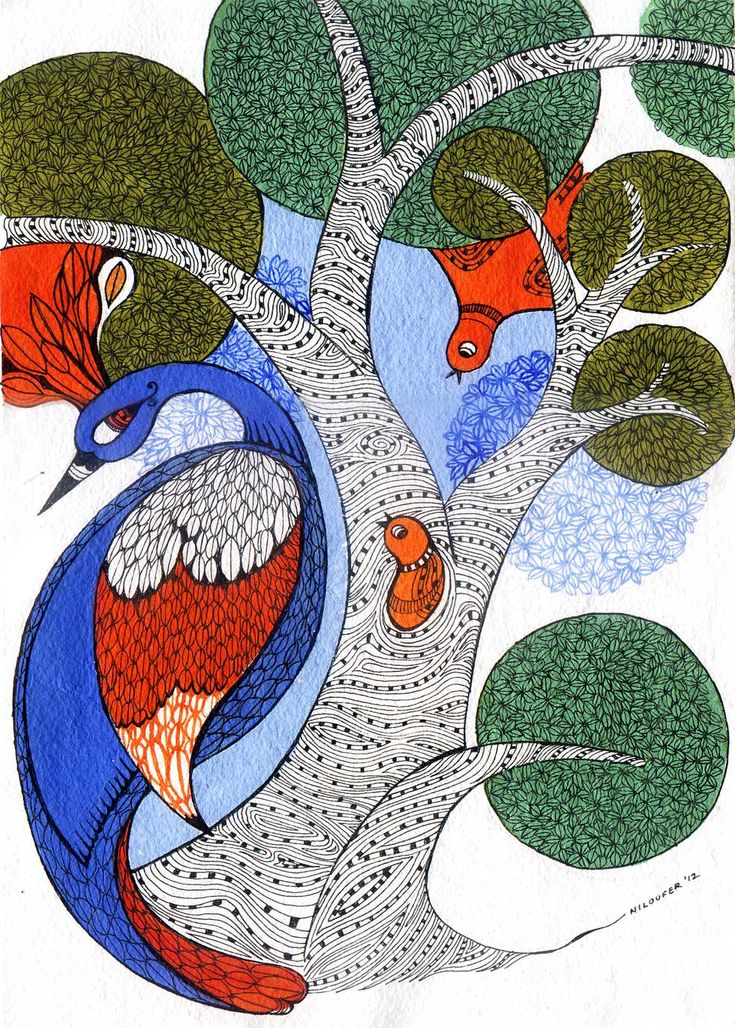 art | Niloufer Wadia - Gond Art