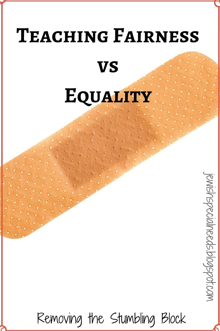The Band Aid Activity for teaching fairness vs. equality ...