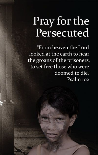 International Day of Prayer for the Persecuted: November 13