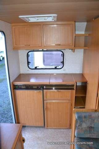 Caravane STERCKEMAN occasion - Classique - 4 places - 1995 - 4950 € - Pierrelaye (Val-d'Oise) 9926704095