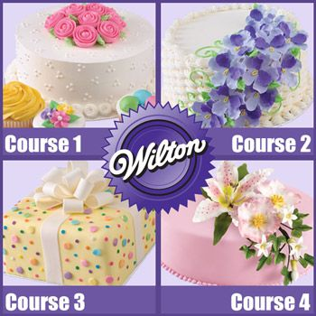 Finally take the Cake Decorating Course that I want to take!