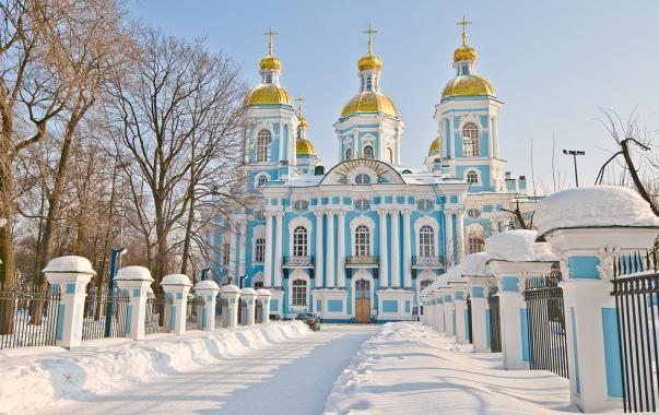 L'église Saint Nicolas des Marins, Saint Petersbourg