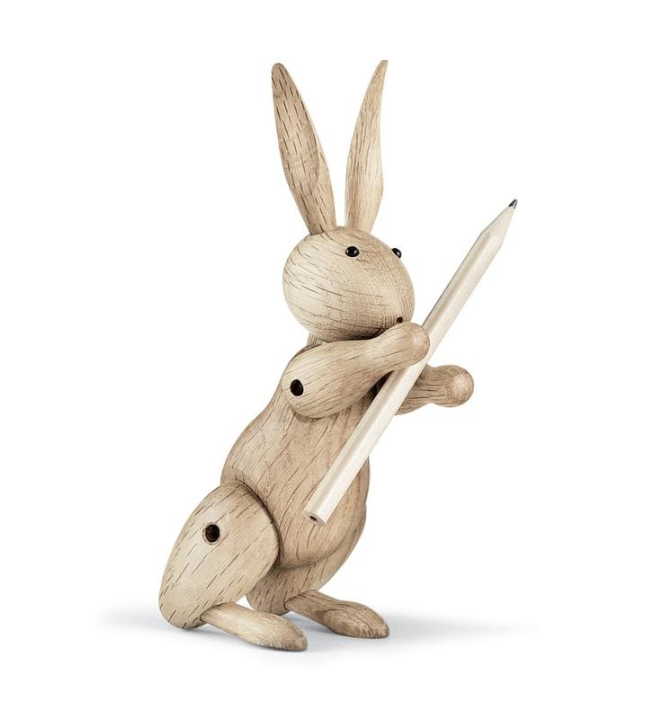 Rabbit from Rosendahl. Design by Kay Bojesen. #wooden #kaybojesen
