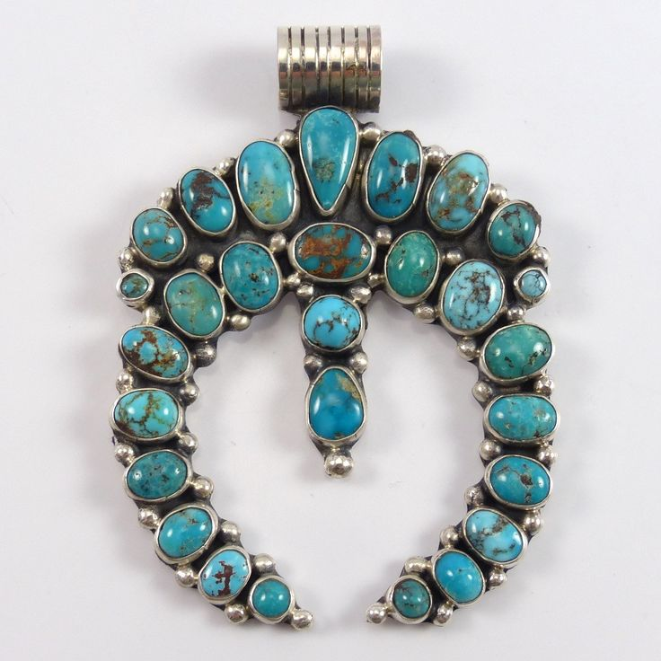 4923 best necklace images on pinterest jewels native american royston turquoise naja pendant clarissa and vernon hale aloadofball Gallery