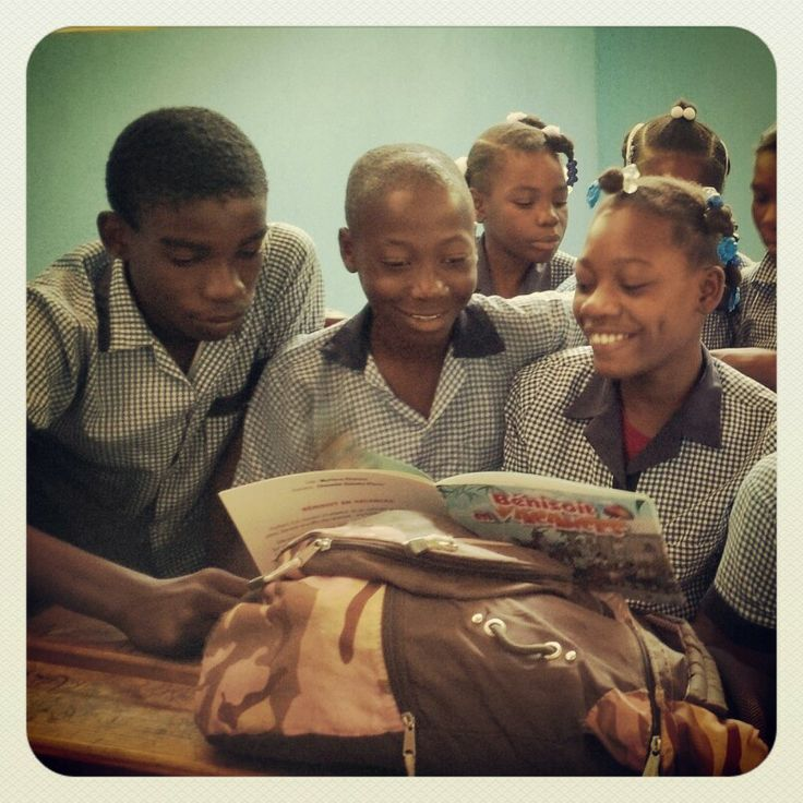 Reading is fundamental. Feed the future. #education #Haiti #FDVLibrary #donate  www.fleurdevieonline.org