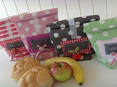Kostenlose Anleitung für eine Lunchbag von Glückspilzchen