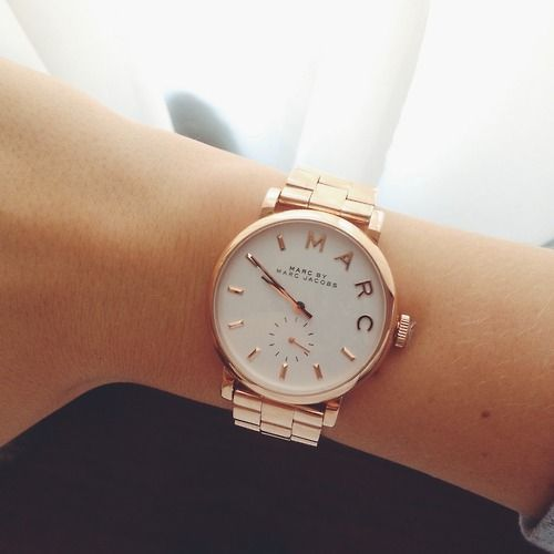 Marc Jacobs watch | I'm not normally into so much gold but, this is beautiful